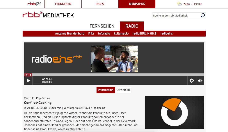 Conflictfood_radioeins