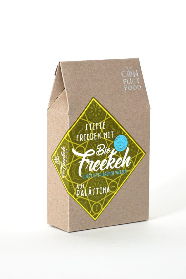 Peace kit: Freekeh with Newspaper & Recipe Cards