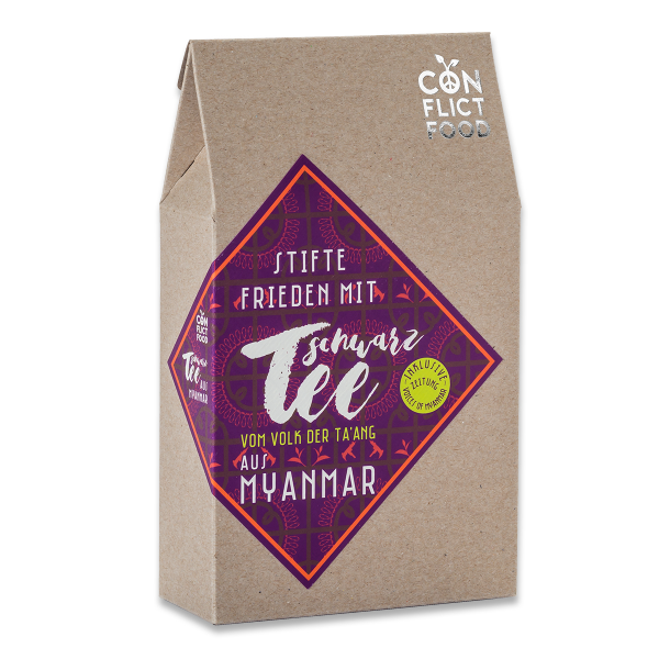 Peace Kit: Organic Black Tea from Myanmar, 100g