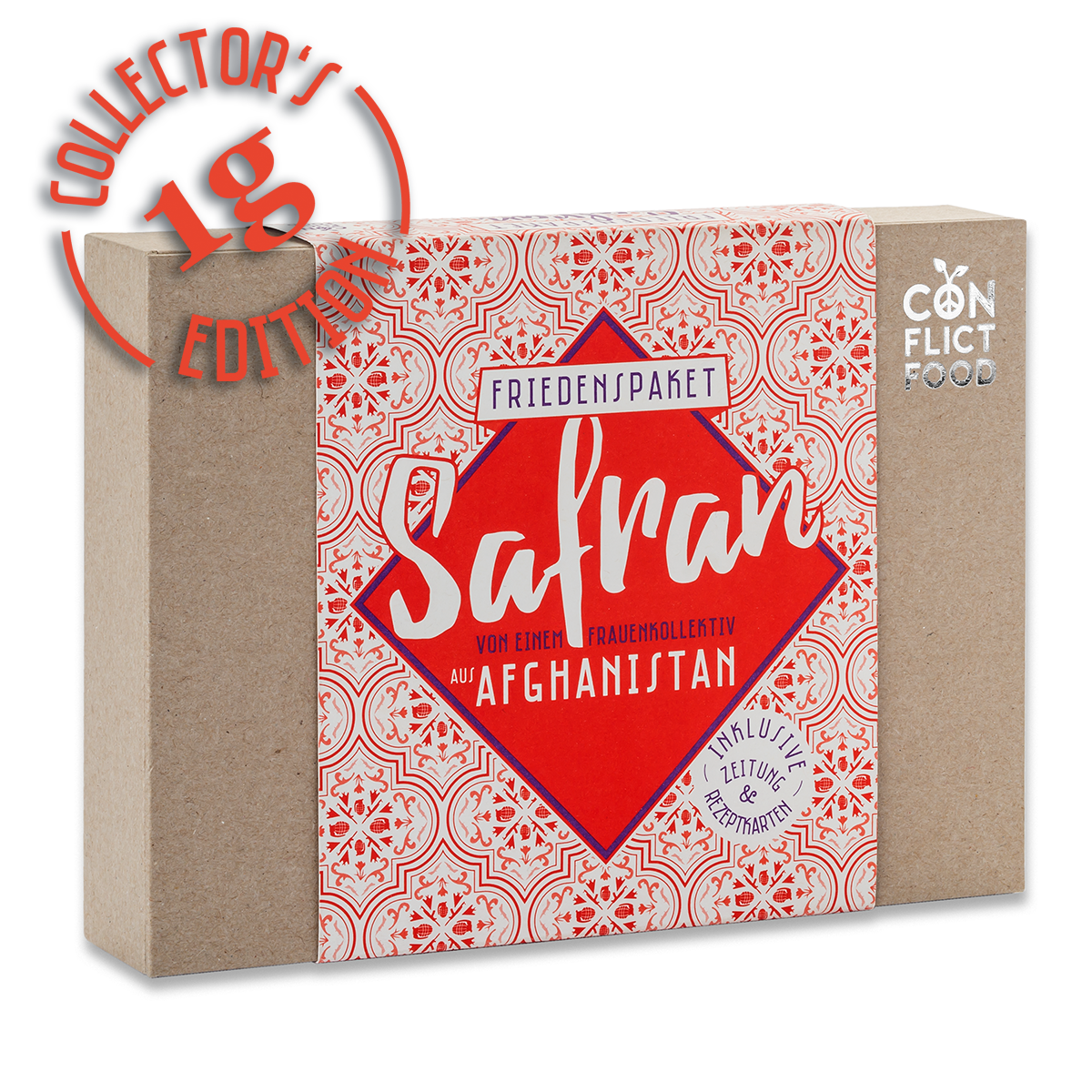 Afghanistan Box: Feinste Safranfäden, 1g
