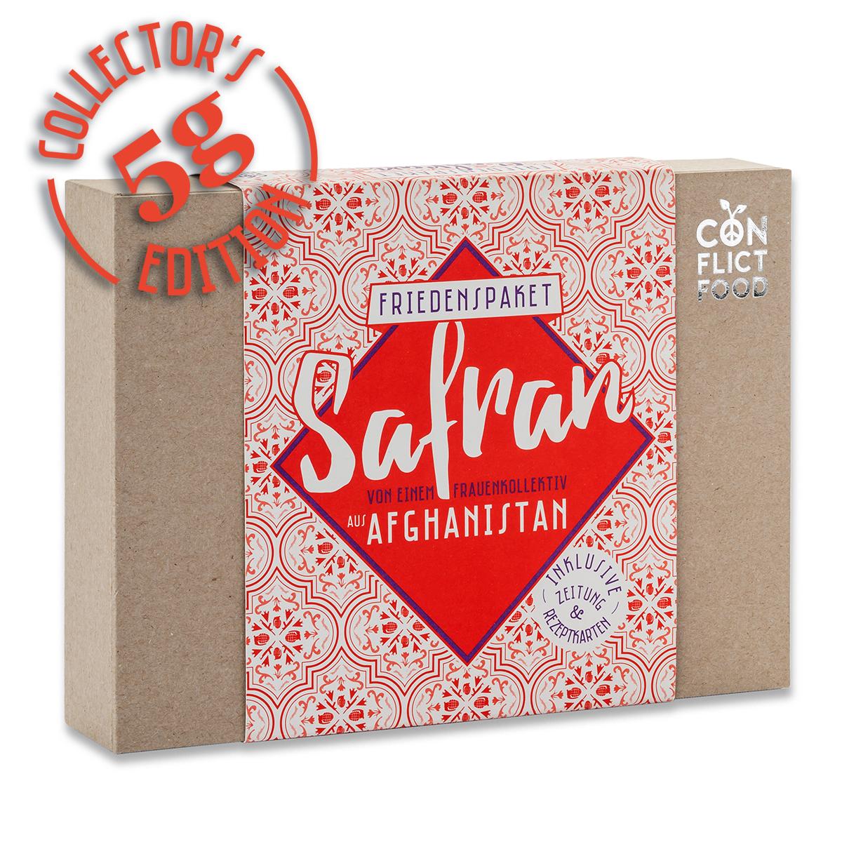 Afghanistan Box: Feinste Safranfäden, 5g