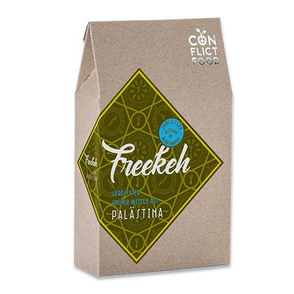 Peace Kit: Organic Freekeh from Palestine, 250g
