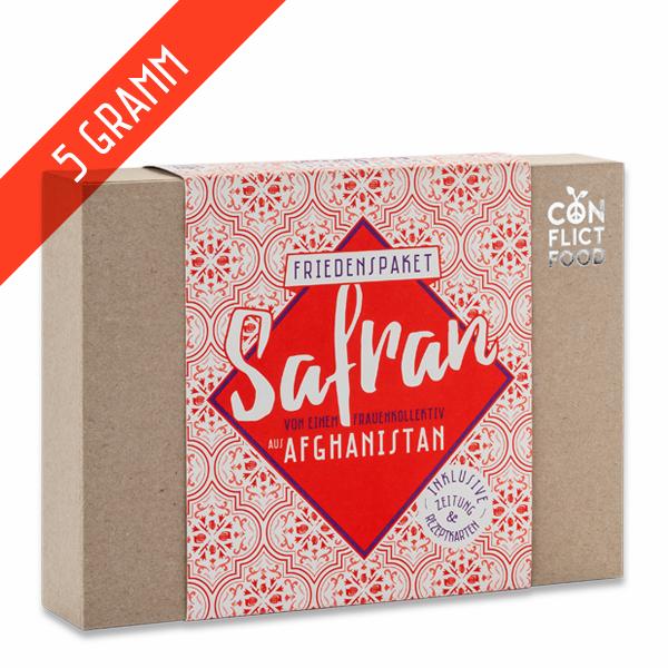 Afghanistan Box: Saffron, 5g