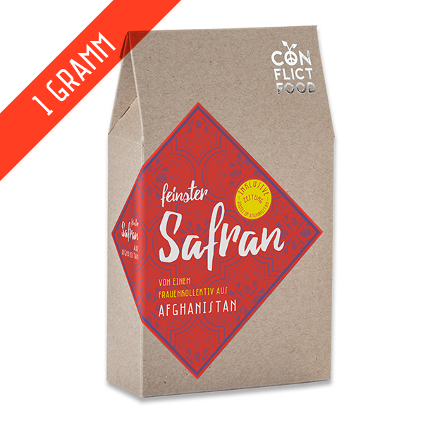 Peace Kit: Saffron from Afghanistan, 1g
