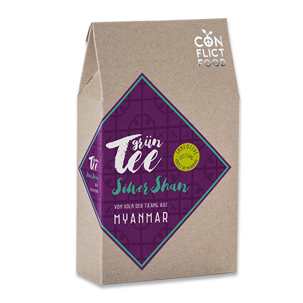 "Organic Green Tea ""Silver Shan"" from Myanmar, 100g"