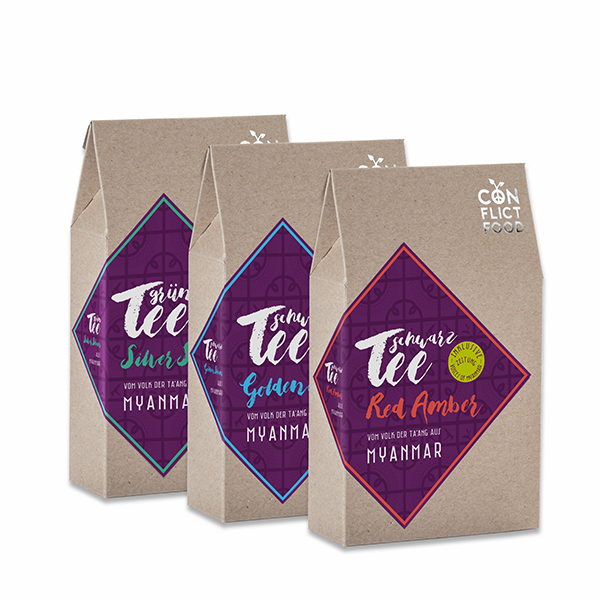 Tea Trio: Organic Teas from Myanmar