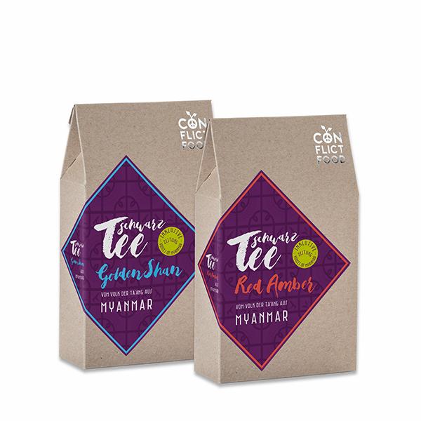 Tea duo: Organic Black Teas from Myanmar